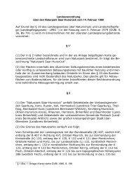 Landesverordnung über den Naturpark Saar-Hunsrück vom 14 ...