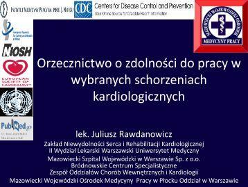 orzecznictwo_kardiol.. - PTMP Oddział w Warszawie