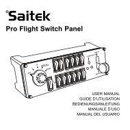 Pro Flight Switch Panel - Saitek.com