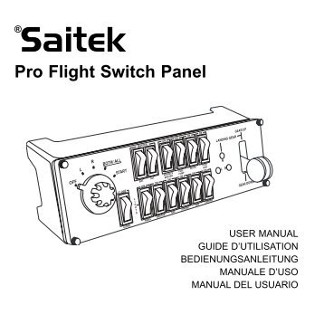 Pro Flight Switch Panel - Saitek.com