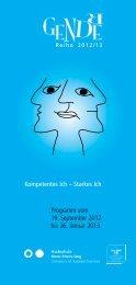 Kompetentes Ich – Starkes Ich Programm vom 19. September 2012 ...