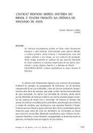 história do brasil e teatro francês na crônica de machado de assis