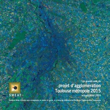 projet d'agglomération Toulouse métropole 2015 - Auat