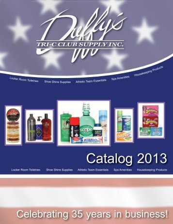 2013 Catalog PDF - Tri-C Club Supply