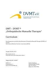 Curriculum ab 2011_V111025_BadMerkentheim FM ... - OMT - DVMT