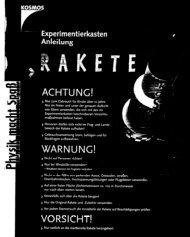 Die Rakete - Produktinfo.conrad.com