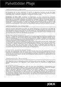 Joka Parkettböden - Parkett und Bodenbeläge Strub - Page 2