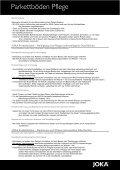 Joka Parkettböden - Parkett und Bodenbeläge Strub - Page 3