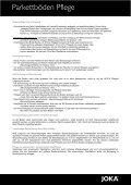 Joka Parkettböden - Parkett und Bodenbeläge Strub - Page 4