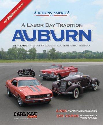 Auction Catalog - Auctions America