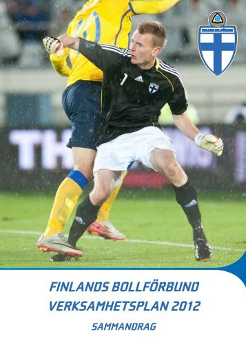 finlands bollförbund verksamhetsplan 2012 sammandrag