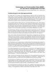 1913 Intelligenzblatt der Stadt Bern - Oskar-Bider-Archiv