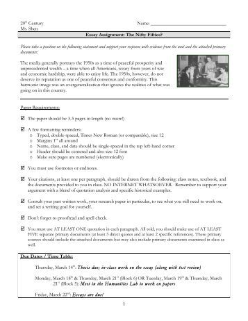 Sample Dbq Essay Ap European History Outline Your Works