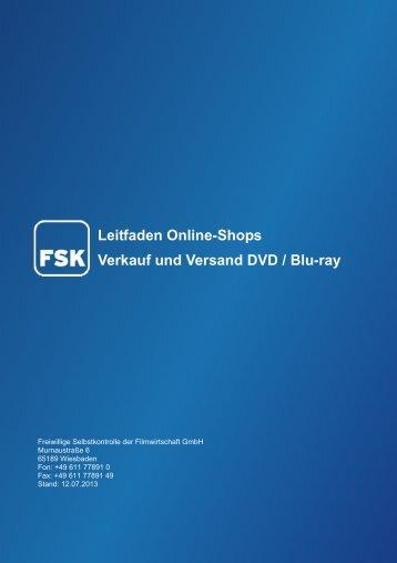 Leitfaden Online-Shops - FSK