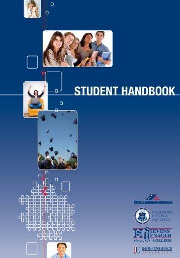 STUDENT HANDBOOK - California College San Diego