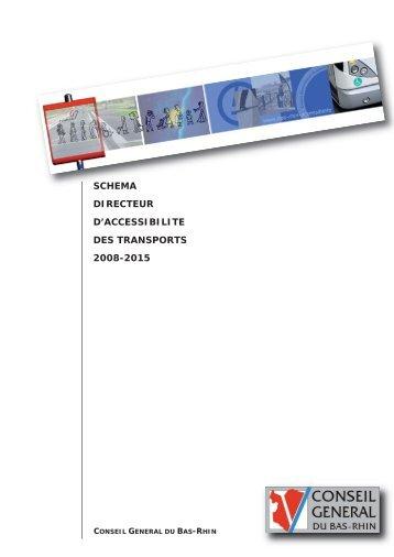 schema directeur d'accessibilite des transports 2008-2015 - Gart