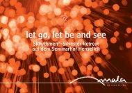 let go, let be and see - Amala - Tanz mit den 5 Rhythmen in Stuttgart