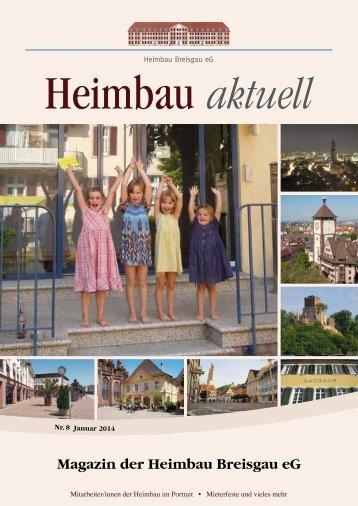 Heimbau Mitgliederzeitung 2013 - Heimbau Breisgau eG