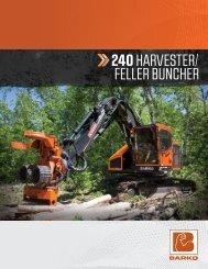 Harvester Product Brochure - Barko Hydraulics, LLC