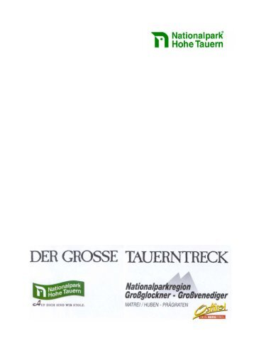 PDF-Download - Hohe Tauern