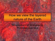 How we view the layered nature of the Earth - CSUSB Ocean ...