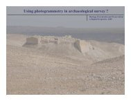 Using photogrammetry in archaeological survey ?