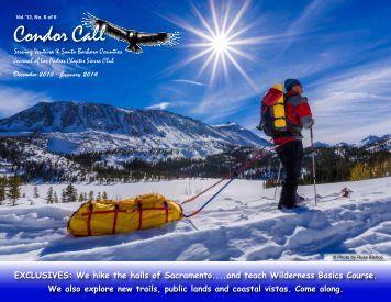 2013 #6 Dec Jan - Los Padres Chapter - Sierra Club