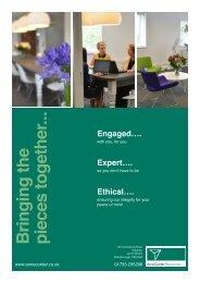 ACR Brochure - Anne Corder Recruitment