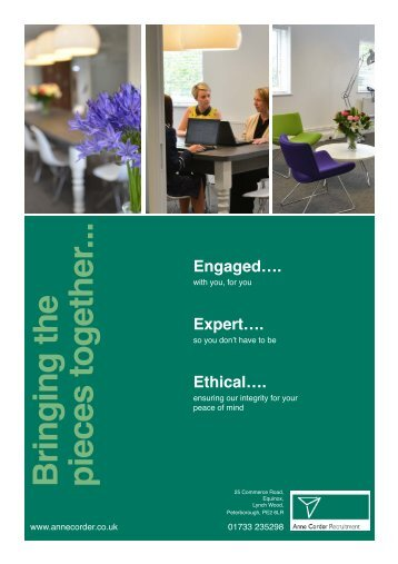 ACR Brochure - Anne Corder Recruitment