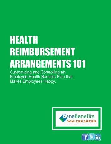 HEALTH REIMBURSEMENT ARRANGEMENTS 101 - MDA Insurance
