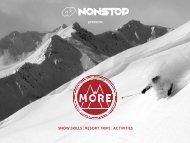 Download the More brochure. - Nonstop Ski & Snowboard