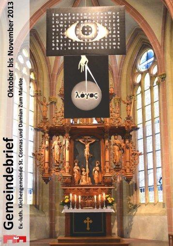 Gemeindebrief Seite 43. - Marktkirche