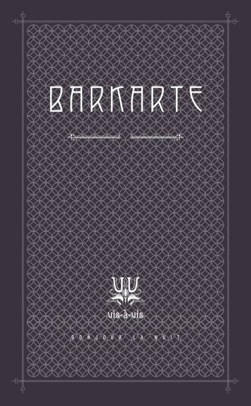 BARKARTE - Candrian Catering AG