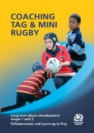 Coaching Tag & Mini Rugby