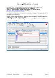Anleitung VR-NetWorld Software 5