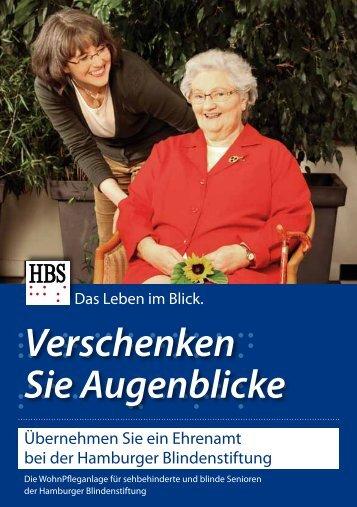Ehrenamt - Hamburger Blindenstiftung