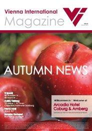 VI Magazin Herbst 2013 download (pdf) - Vienna International ...