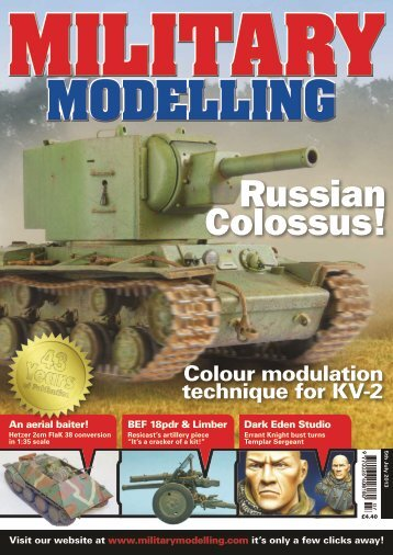 Military Modelling - July 2013