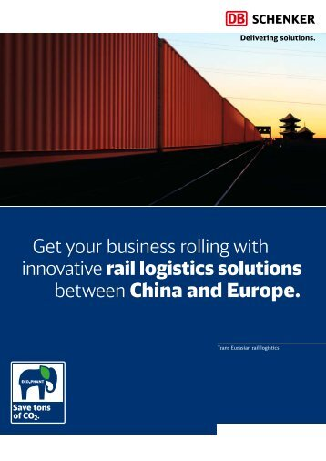 Get your business rolling with innovative rail logistics solutions ...