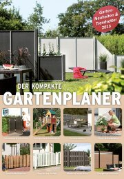 Zäune einzigartig leicht planen: www.traumgarten.de