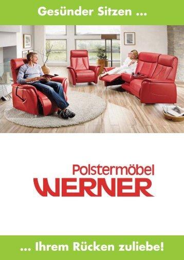 2 free Magazines from POLSTERMOEBEL.WERNER.DE