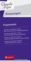 Kreuzungen 1103.pdf - Bernhard Schmidt