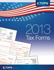Tax Forms - MyOfficeProducts.com