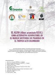 EL ALISO (Alnus acuminata H.B.K.) - Corpoica