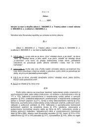 1/24 N á vrh Zákon z .......... 2007, ktorým sa mení a dopĺňa zákon č ...