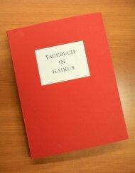 Tagebuch in Haikus - Dr. Hohenschild