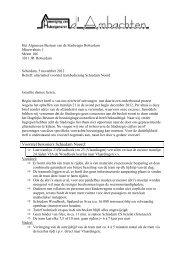 Brief Stadsregio - Woudhoek info .nl