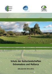 """Jahresbericht 2011/2012 """"Schutz der Kulturlandschaften"""