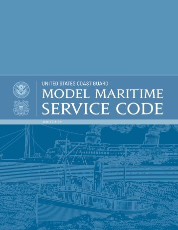 UnitEd StatES CoaSt GUard - Bryant's Maritime Consulting