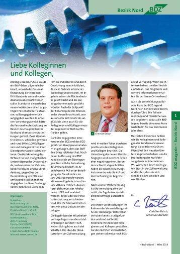 Ausgabe 1/2013 - Der BV Nord